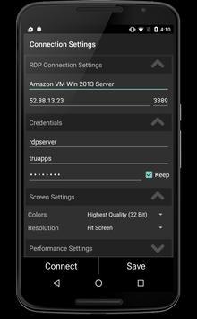 TruRdp screenshot 5