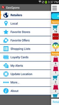 GeoQpons 2017 Holiday Shopping Coupons and Sale apk screenshot
