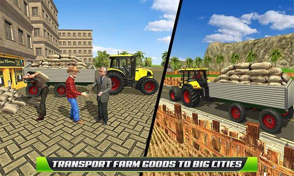 Virtual Farmer Tractor: Modern Farm Animals Game screenshot 3