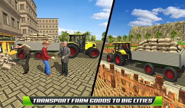 Virtual Farmer Tractor: Modern Farm Animals Game screenshot 13