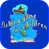 Man Fishing Game For Children icon