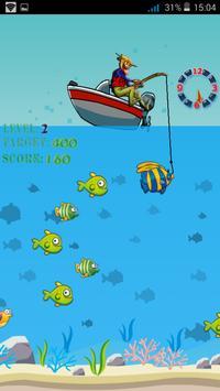 Man Fishing Game For Children poster
