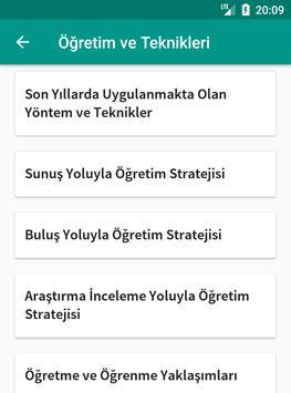 KPSS Eğitim Bilimleri Ders Notları apk screenshot