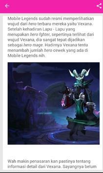 Guide / Panduan Mobile Legends apk screenshot