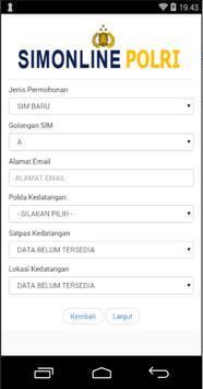 Panduan SIM Online Republik Indonesia screenshot 2
