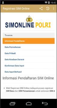 Panduan SIM Online Republik Indonesia screenshot 3