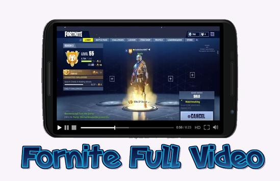 Fornite Full Video poster
