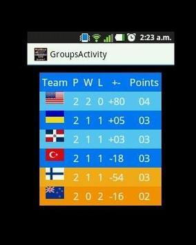 Basketball Worldcup Live screenshot 3
