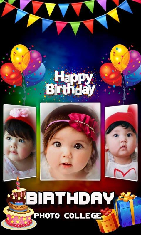 Birthday Collage Maker Photo Frame Collage For Android Apk Download