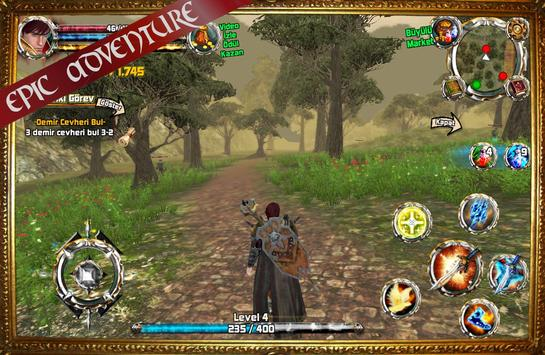 Kingdom Quest Crimson Warden 3D RPG poster