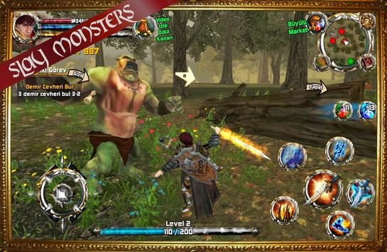 Kingdom Quest Crimson Warden 3D RPG screenshot 1