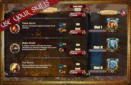 Kingdom Quest Crimson Warden 3D RPG screenshot 3