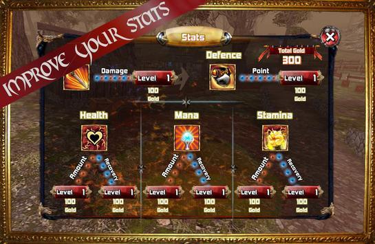 Kingdom Quest Crimson Warden 3D RPG screenshot 4