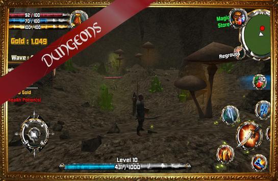 Kingdom Quest Crimson Warden 3D RPG screenshot 5
