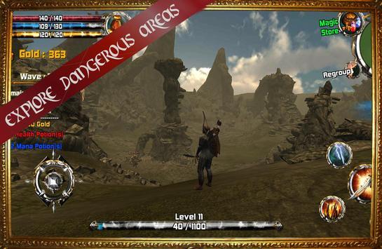 Kingdom Quest Crimson Warden 3D RPG screenshot 7