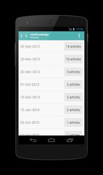mmKnowledge screenshot 2