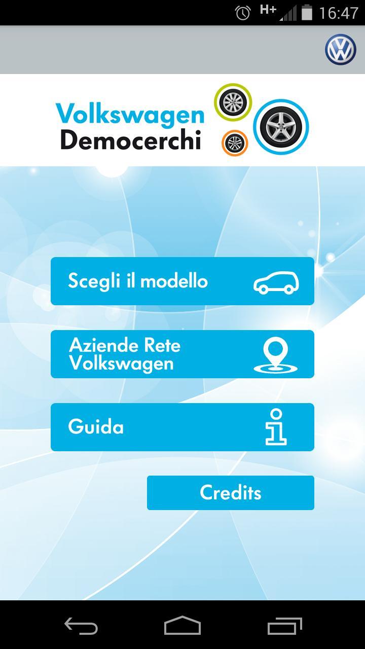 Volkswagen Democerchi poster