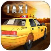 Real City Crazy Taxi Simulator icon