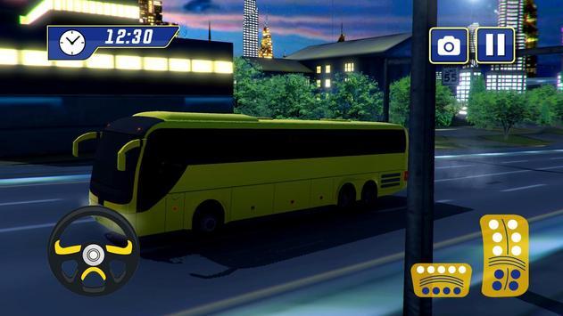 Modern Tourist Bus Hill Climb poster