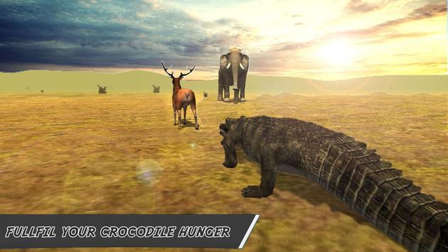 Furious Crocodile Attack Sim poster