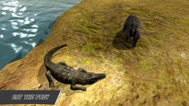 Furious Crocodile Attack Sim screenshot 1