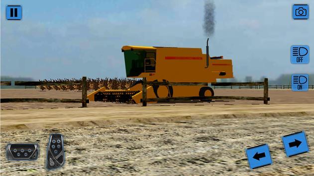 Real Farm Tractor Simulator 3D poster