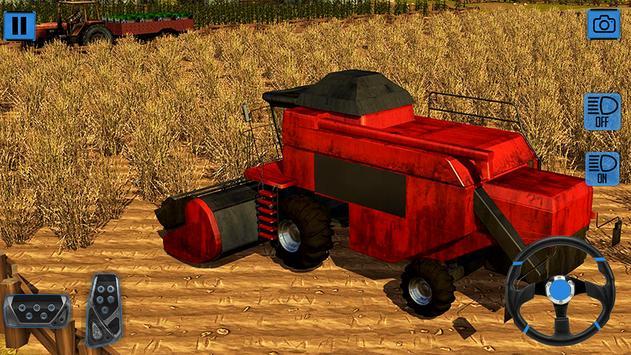 Real Farm Tractor Simulator 3D screenshot 16
