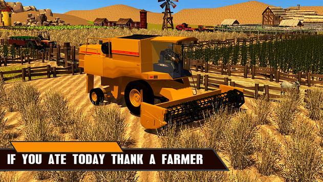 Real Farm Tractor Simulator 3D screenshot 1