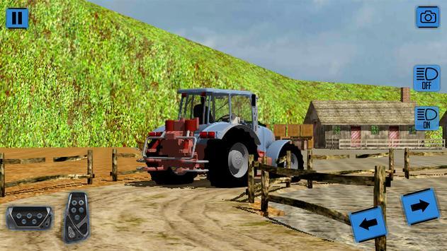 Real Farm Tractor Simulator 3D screenshot 5