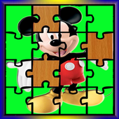 Mickey and Mouse Games Puzzle icon