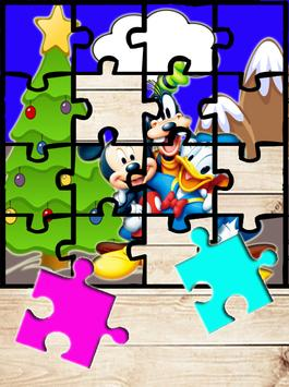 Mickey and Mouse Games Puzzle poster