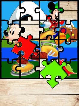 Mickey and Mouse Games Puzzle apk screenshot