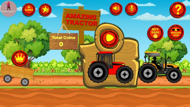 Amazing Tractor! poster