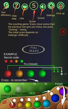 Intelligence Mastermind - intellMind. Smart game. screenshot 8