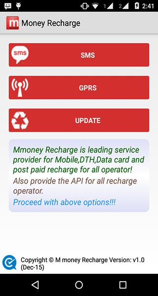 M money recharge for Android - APK Download