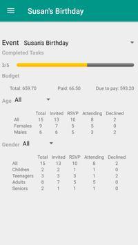 Event Planner (Party Planning) apk screenshot
