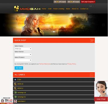 Mmogah.com MMORPG Gold apk screenshot