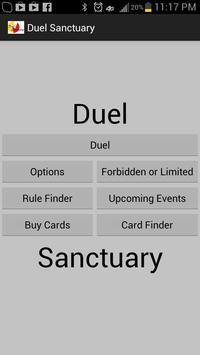 Duel Sanctuary poster