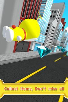 Yellow Doras Cat Copter 3D apk screenshot