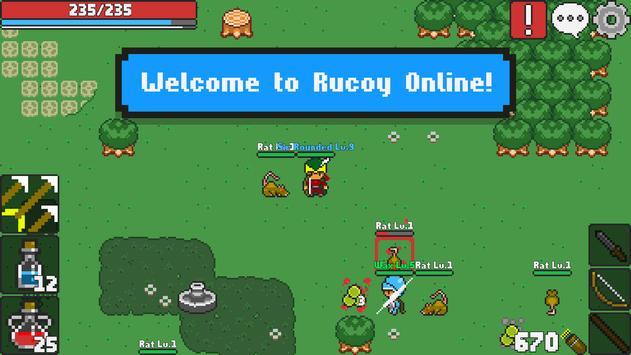 Rucoy Online - MMORPG - MMO poster