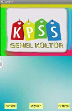 Kpss Genel Kültür apk screenshot