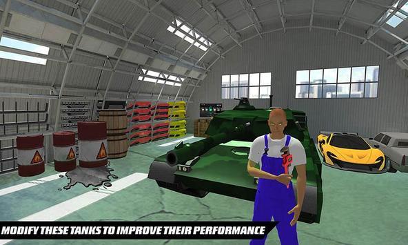US Army Tank Mechanic Garage apk screenshot
