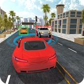 Driverless Car Driving Sim 3D icon