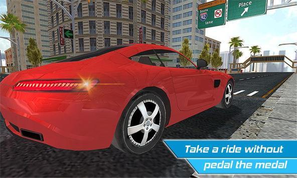 Driverless Car Driving Sim 3D screenshot 3