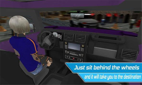 Driverless Car Driving Sim 3D screenshot 2