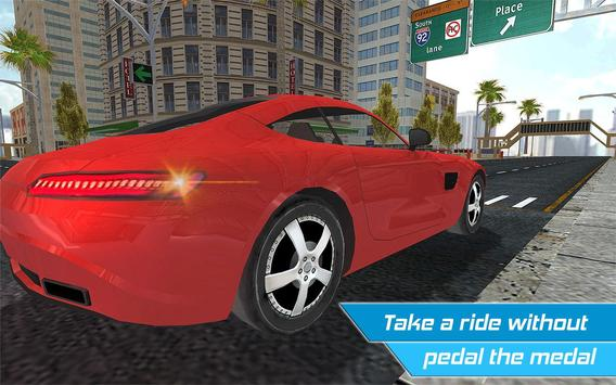 Driverless Car Driving Sim 3D apk screenshot