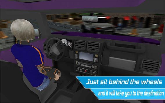 Driverless Car Driving Sim 3D screenshot 6