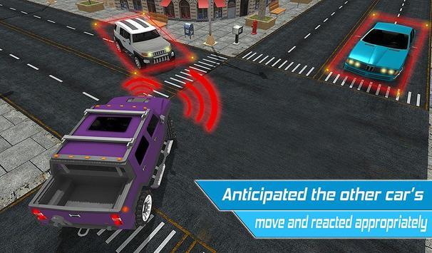 Driverless Car Driving Sim 3D screenshot 8