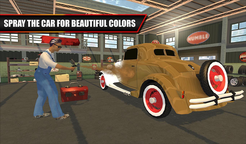 Classic Car Mechanic Garage APK Download - Free Simulation GAME for ...