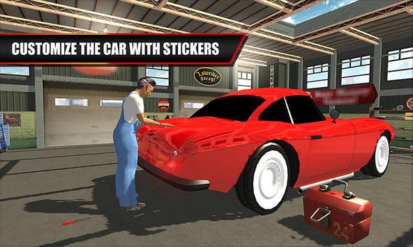 Classic Car Mechanic Garage apk screenshot